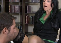 Brunette India Summer fuck a big prick