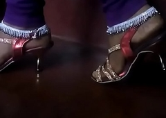Indian Bhabhi Anklets with Sandals