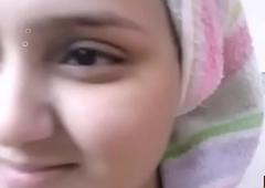 Indian Big boobs Bhabhi Sonia After Shower Disrobes for Husband