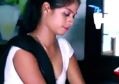 ANALANINE-Hot indian maid makes the steady old-fashioned well